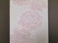 小紋 -大花線の牡丹ー