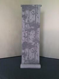 小紋 -梅と竹タタキシルエットー
